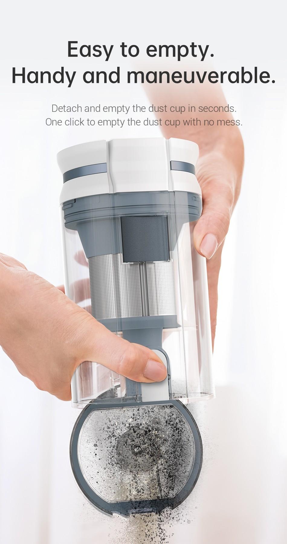Dreame P10 Limpiador De Vacío Inalámbrico Portátil Versión De La Ue-Para Hogar 20kPa Electrodomésticos LED Pantalla De Polvo De Colector De Polvo Aspiradora