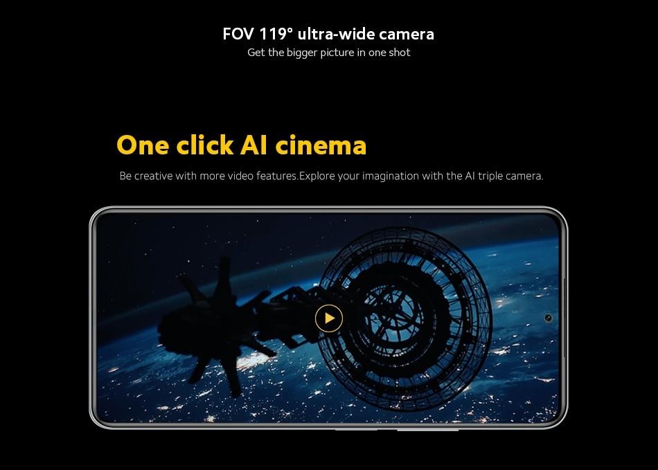 POCO F3 5G Snapdragon 870 6GB+128GB - EU Verion