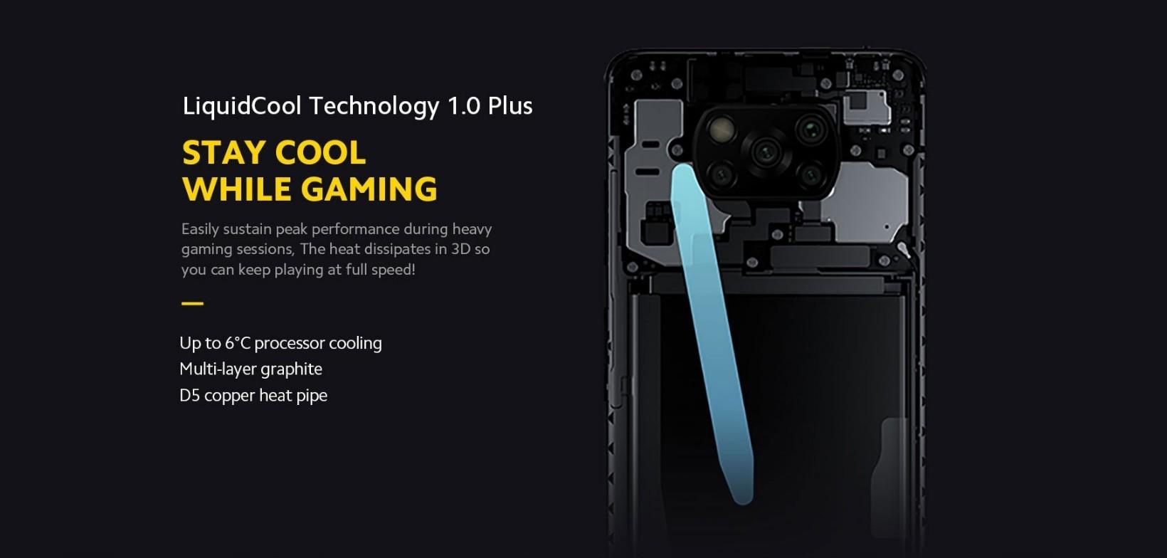 Xiaomi POCO X3 Pro SnapsDragon 860 6+128GB - Versione UE